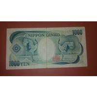 Банкнота 1000 йен  Япония 1984 г.