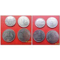 Монеты Индии 4 шт (цена за все) - из коллекции