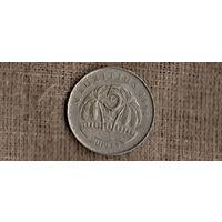 Маврикий 5 рупий 1991 /флора/пальмы/(МР)
