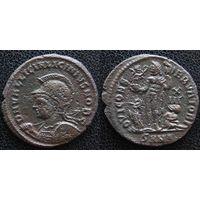 YS: Древний Рим, Лициний, медный фоллис 308-324 н.э., монетный двор Никомедии (SMNA)