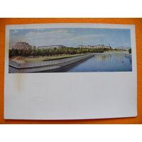 Панов В.(фото), Минск. Набережная реки Свислочь, 1964, подписана.