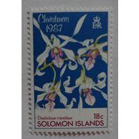 Соломоновы острова.1987.орхидеи