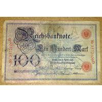 100 марок 1903г -редкая-