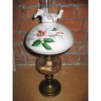 Лампа керосиновая США 19- начало 20 века. Отличный подарок!