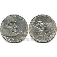 США 5 центов 2005 P Lewis & Clark (возм. ОБМЕН)