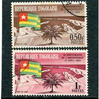 Того. Третья годовщина независимости