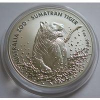 "Австралия 2020 серебро (1 oz) ""Суматранский тигр"""