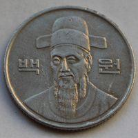 100 вон 1992 Корея