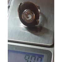 Кольцо  Завиток  9 грамм Клеймо