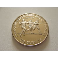 """Мавритания.  500 угий 1984 год  Х#1 """"Международные игры - Бег - Спринтеры"""""""
