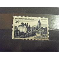 Старенькая Франция архитектура чистая MNH**(4-15)