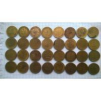 Германия ФРГ 5 пфенингов 50-92 гг . -2-Цена за 1монету ВЫБЕРАЙТЕ ( для любителей погодовки - по дворам )