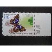 Корея Южная 1994 Бабочка