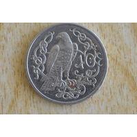 Остров Мэн 10 пенсов 1983