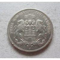 Гамбург Германская империя 5 марок 1908