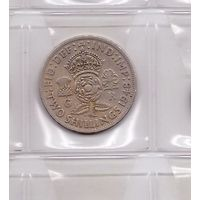 2 шиллинга 1948 Великобритания. Возможен обмен