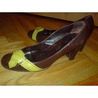 Туфли  женские  кожаные 40 р
