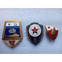 Нагрудные знаки ВМФ СССР