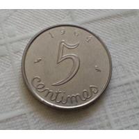 5 сантимов 1964 г. Франция