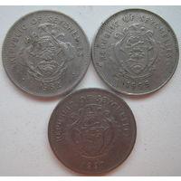Сейшельские острова 1 рупия 1982, 1995, 1997 гг. Цена за 1 шт. (g)