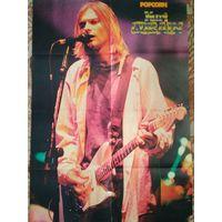 Плакат Постер Фото Nirvana Kurt Cobain