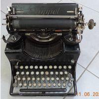 """Печатная машинка 30-х годов """"Kappel"""" Германия."""