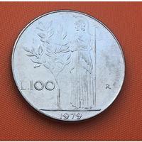 69-06 Италия, 100 лир 1979 г.