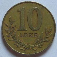 Албания, 10 лек 2000 г
