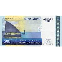 Мадагаскар, 5 000 ариари, UNC