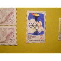 Чехия 1994 Спорт 100-летие Международного олимпийского комитета (МОК) спорт