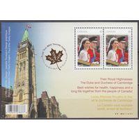 2011 Канада 2739 / B142 Принц Уильям
