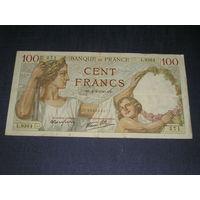 Франция 100 Франков 1940