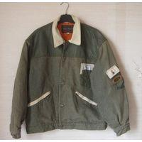Стильная куртка комбинированная джинсовая США