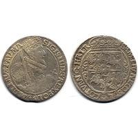 Орт 1621, Сигизмунд III Ваза, Быдгощ. Редкий вариант - номинал 16 под портретом на Ав., R3