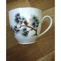 Великолепная кофейная чашка. С 1 рубля! 5 дней!
