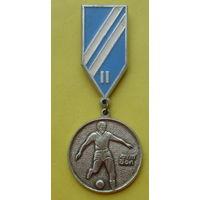СССР. Памятная медаль 2-ое место в соревнованиях по футболу. 1041.