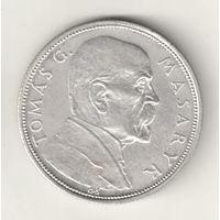 Чехословакия 10 крона 1928 Т.Масарик