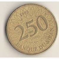 250 ливров 1995 г.