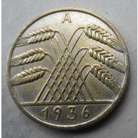 Германия. 10 рейхспфеннигов 1936 A .96