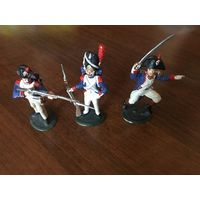 Солдатики оловянные-историческая миниатюра.