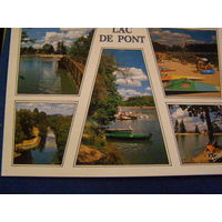 Франция пейзажи Отдых Озера 2001