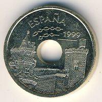 Испания 25 песет 1999 г.