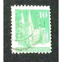 Кельнский собор. Германия. Англо-американская оккупация. Дата выпуска:1948-09-01