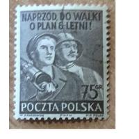 Польша 1951 план 6 лет