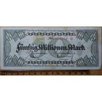 50 миллионов марок 1923г. Кайзерслаутерн