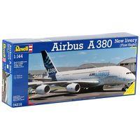Сборные модели Revell в маштабе 1:144  Авиалайнер Airbus A380+клей в тюбике 13 г. в подарок
