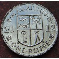 5635:  1 рупия 2012 Маврикий