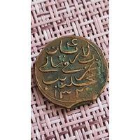 Мальдивы 4 лариата лари ларина 1902 г Султанат