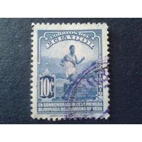 Эквадор 1938 бег, олимпиада