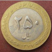 6163:  250 риалов 1998 Иран